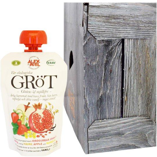 Eko Gröt Jordgubbar & Granatäpple - 23% rabatt
