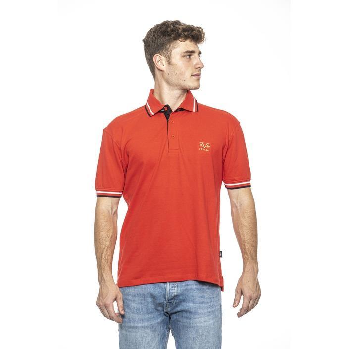 19v69 Italia Men's Polo Shirt Red 185158 - red M