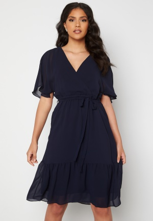 Happy Holly Linnea midi dress Dark blue 36/38
