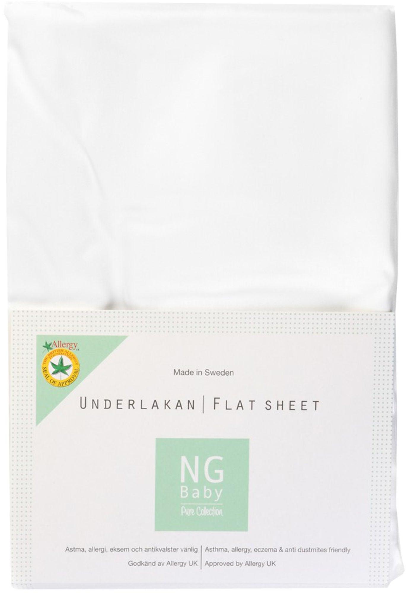 NG Baby Pure Underlakan Vagn/Vagga