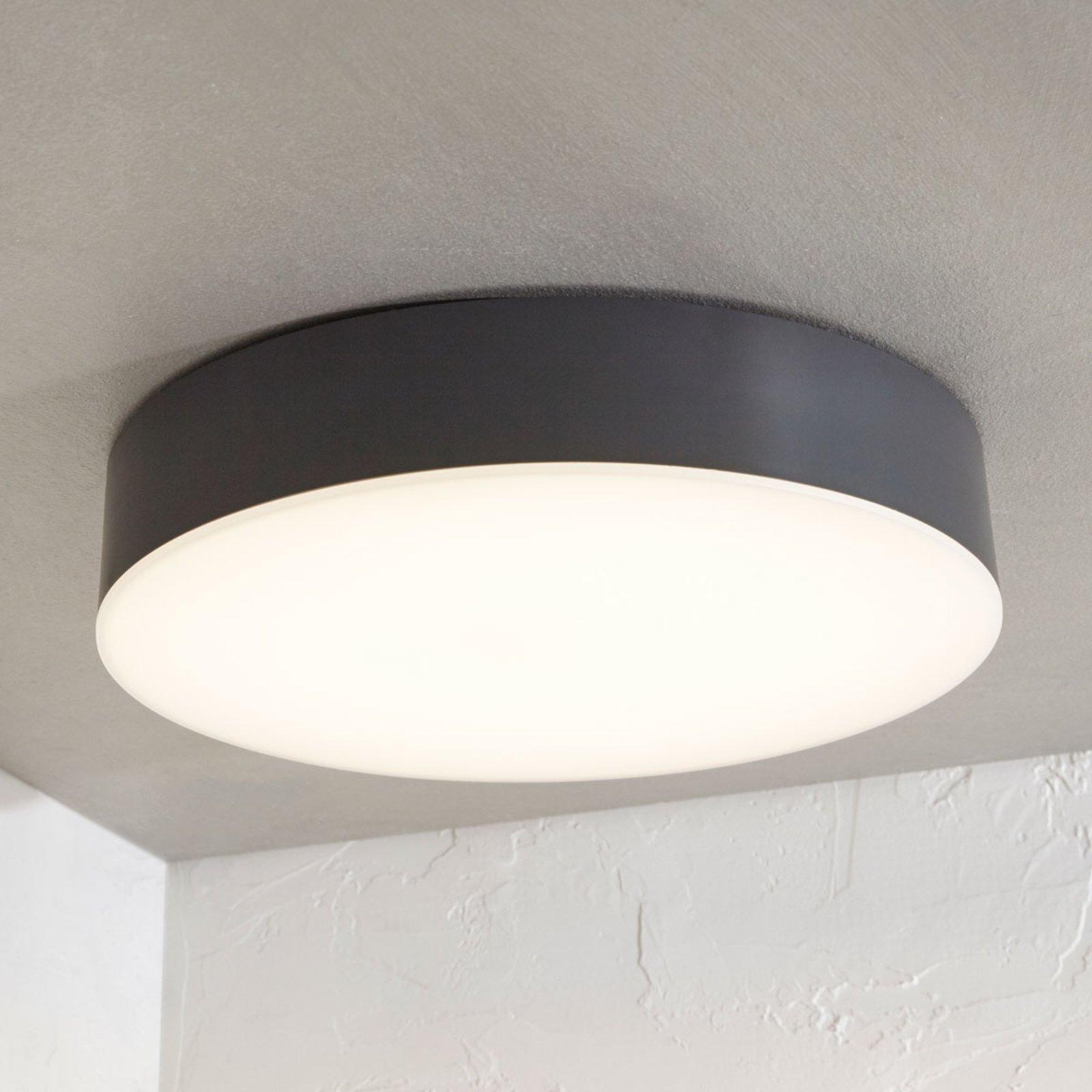 Utendørs LED-taklampe Lyam, IP65 mørkegrå