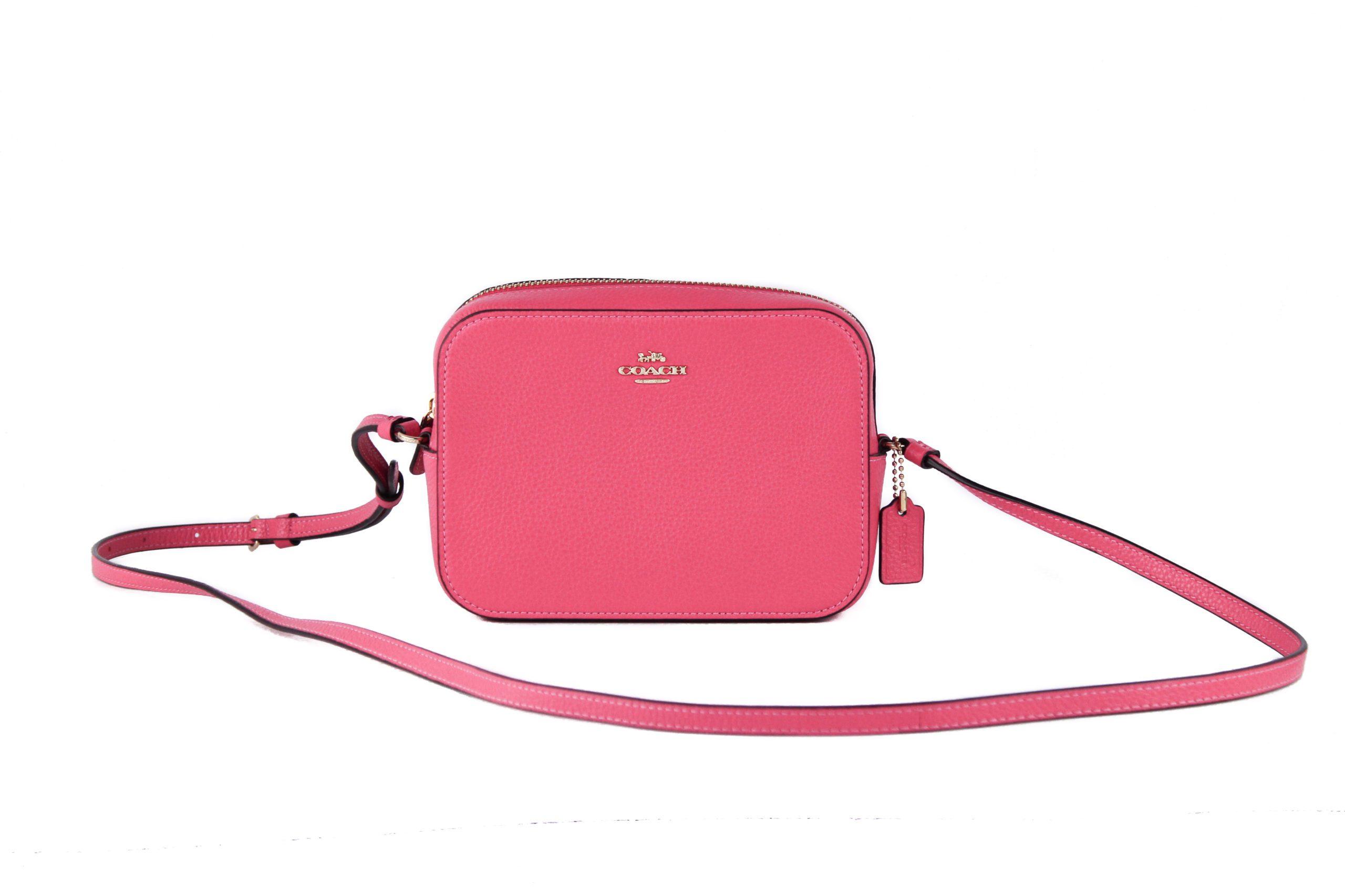 COACH Women's Crossbody Bag Electric Pink 90067