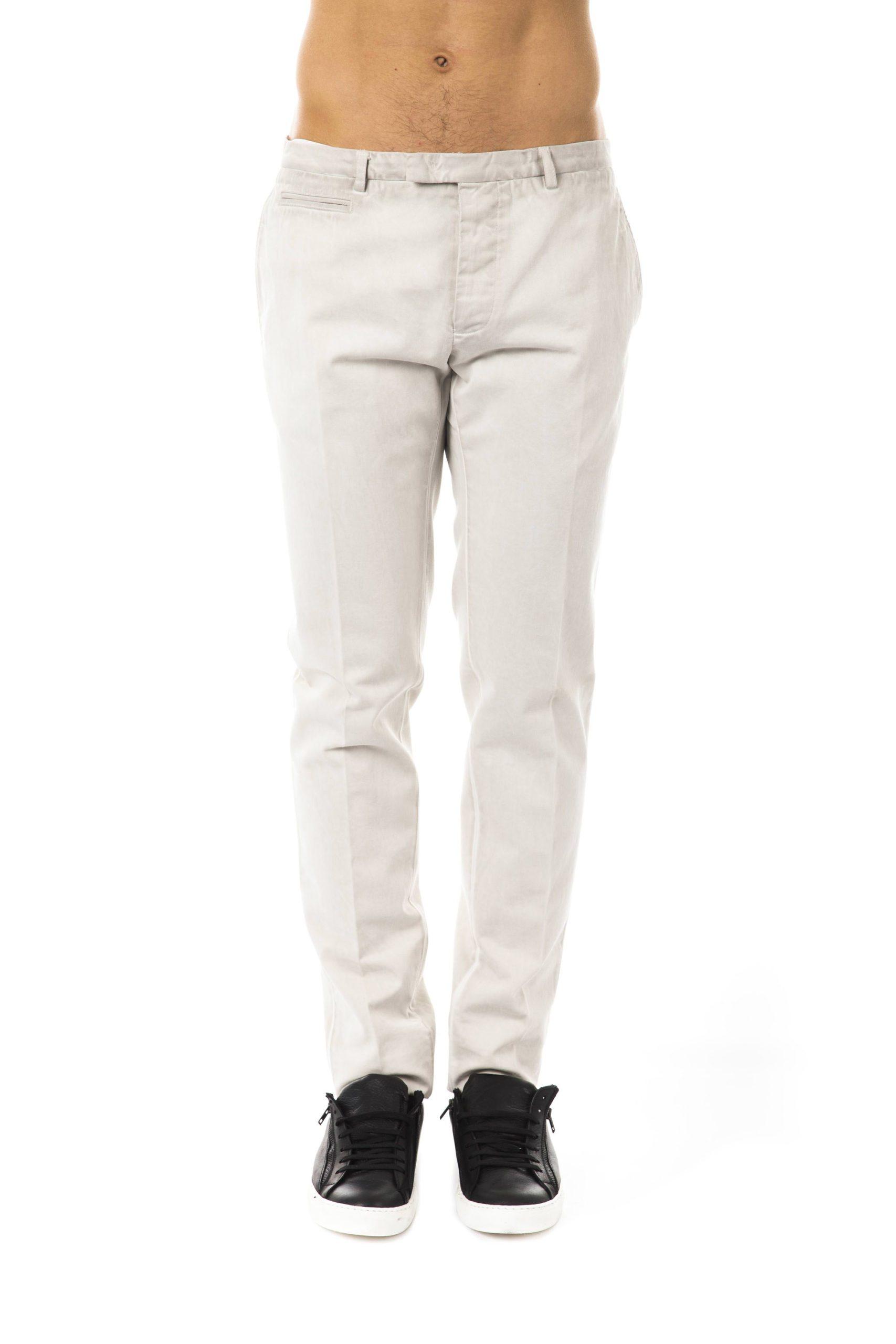 Uominitaliani Men's Trouser Gray UO1394752 - IT46 | S