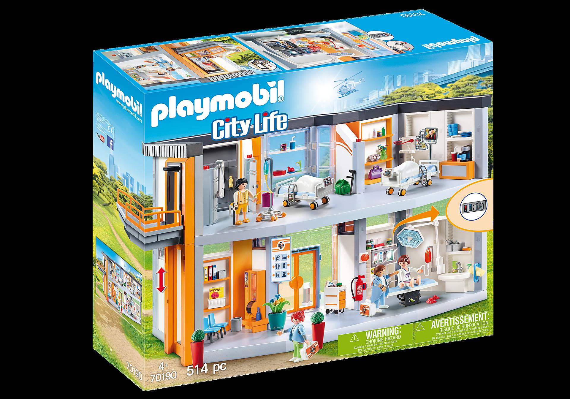 Playmobil - Large Hospital (70190)