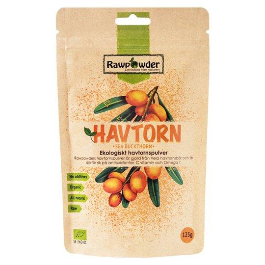 Rawpowder Ekologiskt Havtornspulver, 125 g