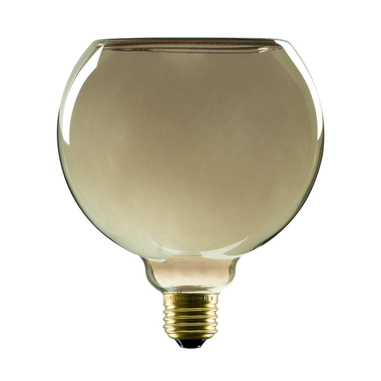 SEGULA LED-Floating-globe-lamppu G150 E27 8W savu