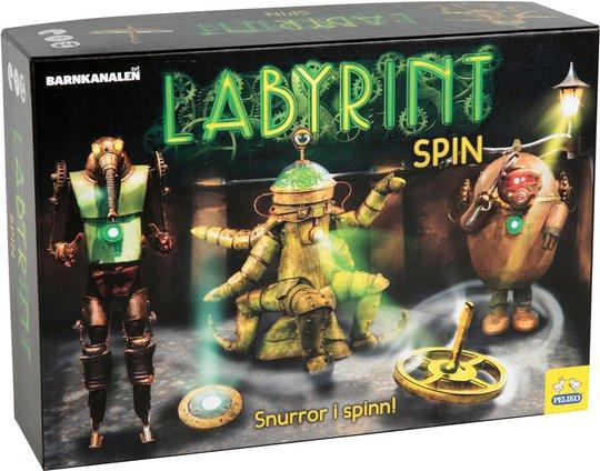 Labyrint Spill Spin
