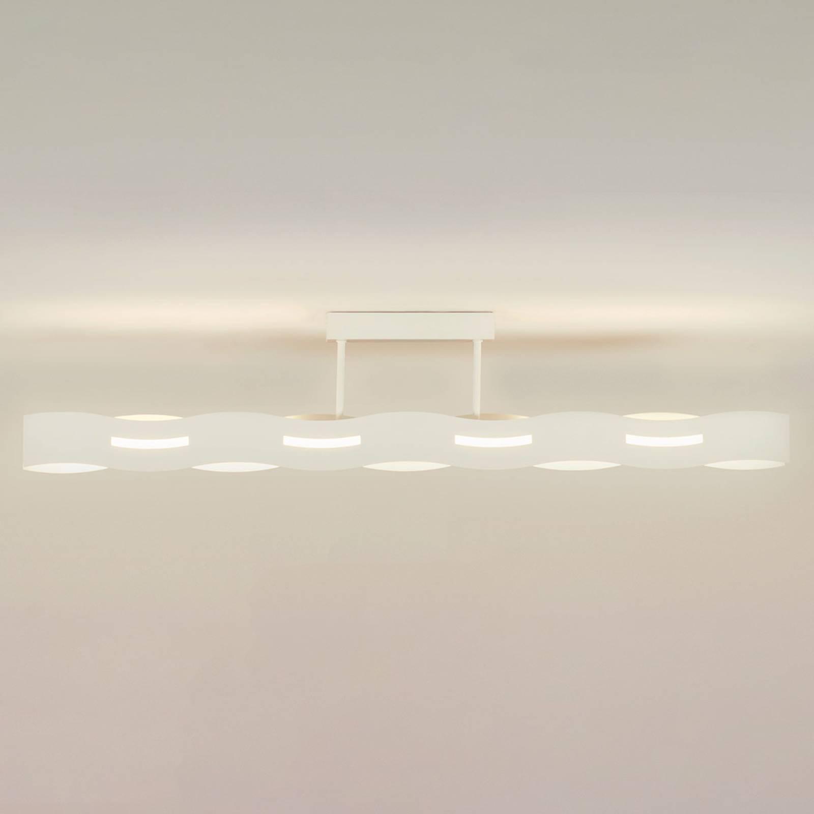 LED-kattovalaisin Wave, valkoinen