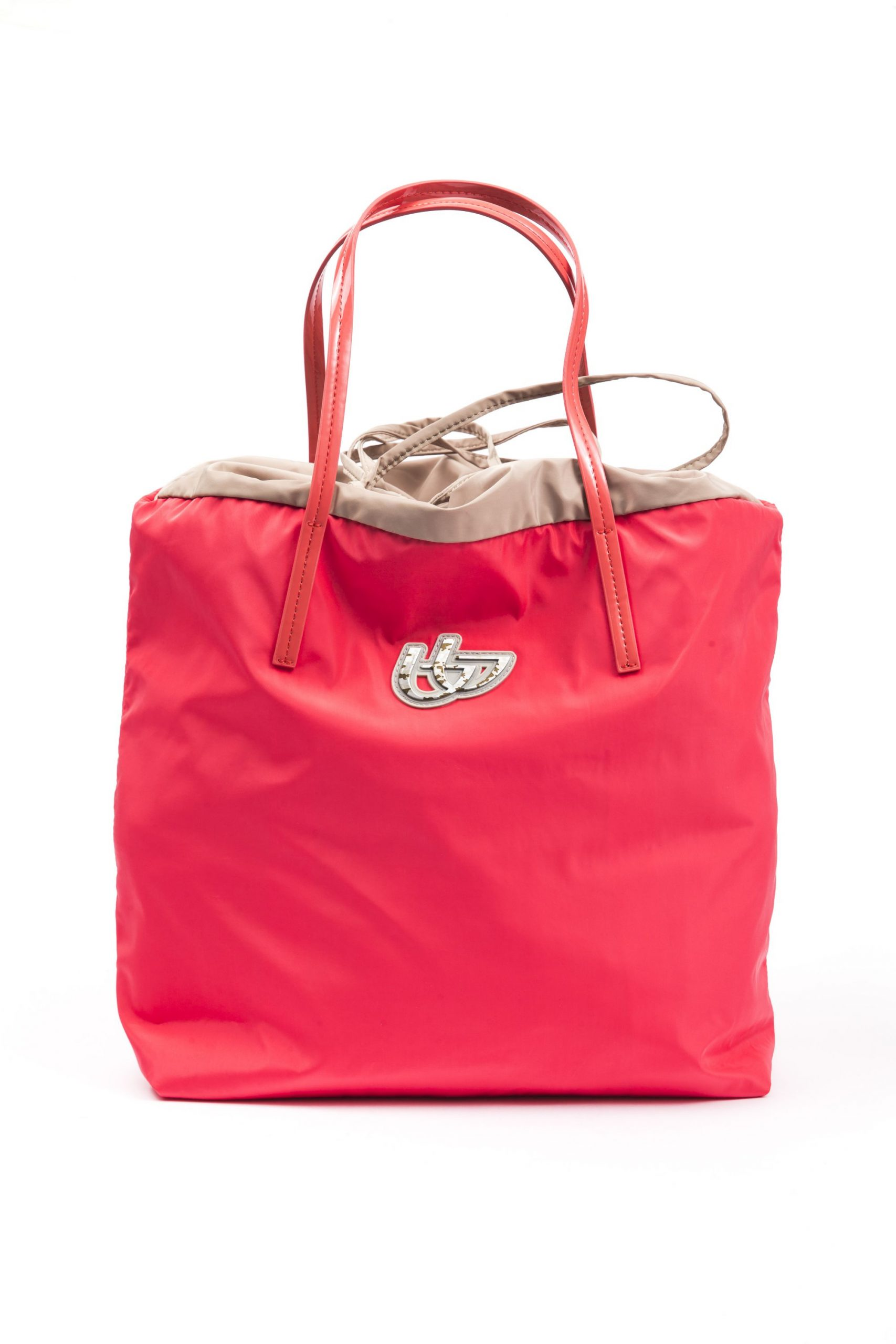 Byblos Women's Shopping Handbag Coral Red BY665707