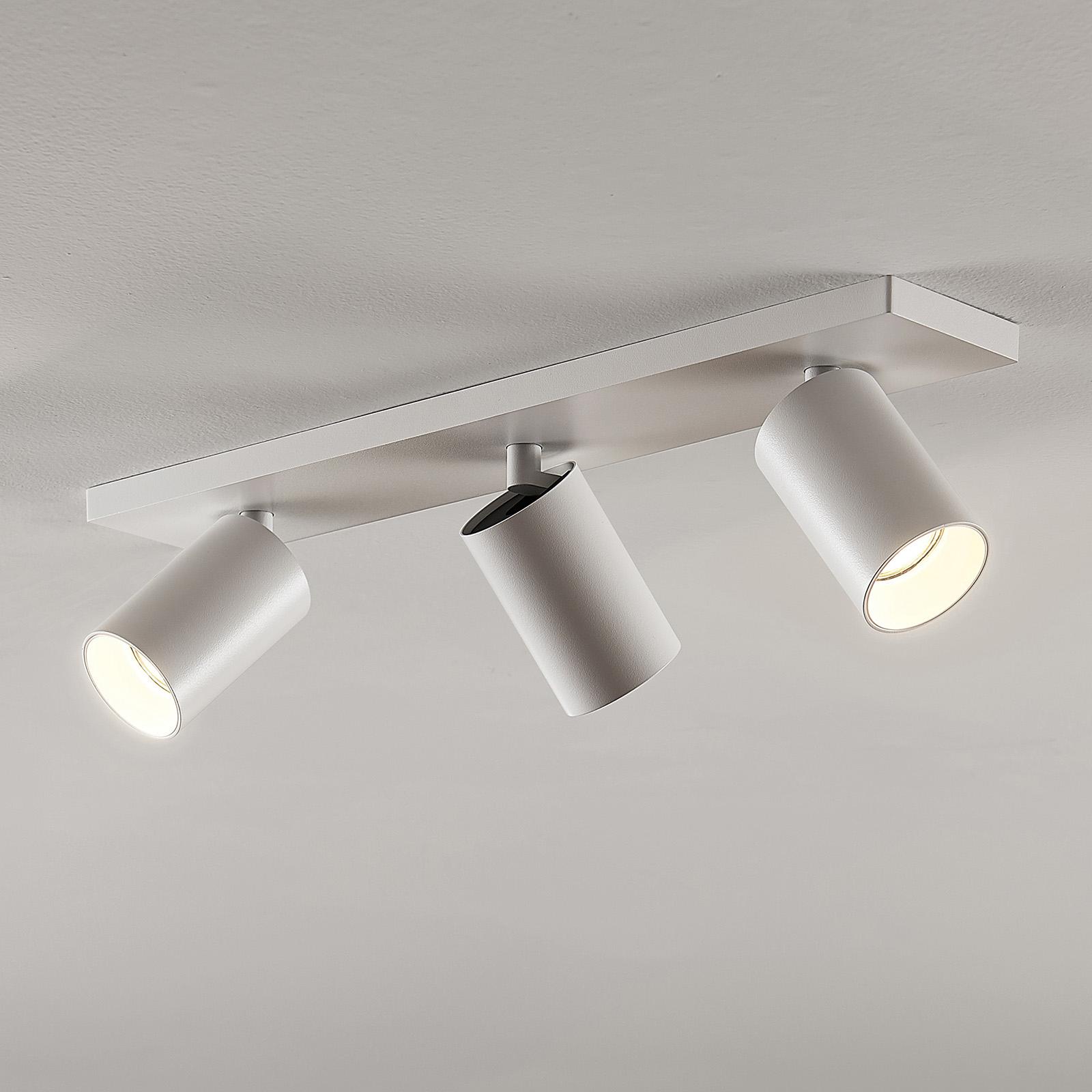 Kohdevalo Brinja GU10 valkoinen 3 lamppua