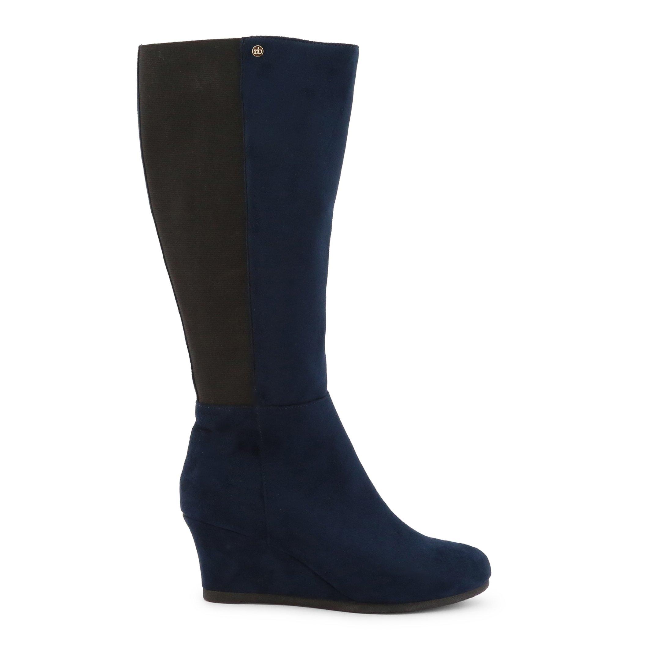 Roccobarocco Women's Boot Various Colours RBSC1JH02 - blue EU 35