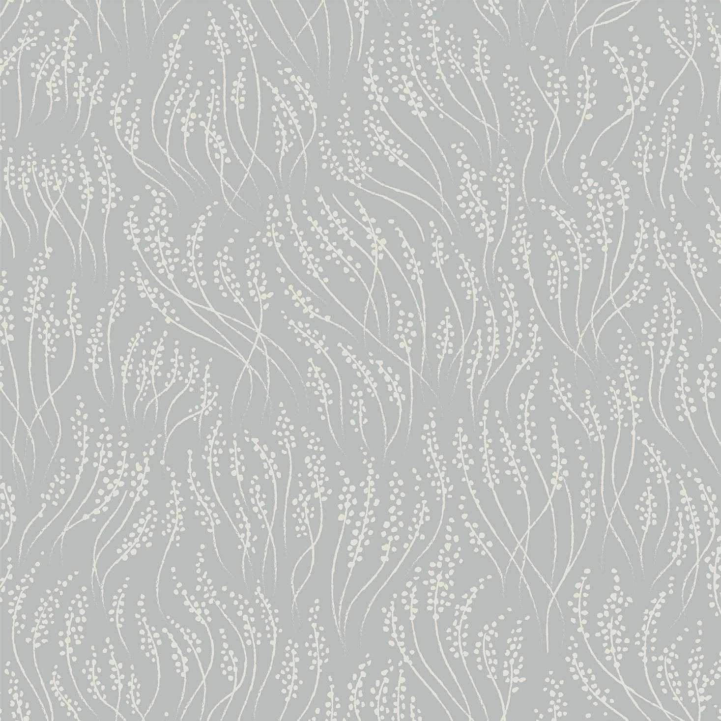 Tapet Meadow - Dusty blue, Littlephant