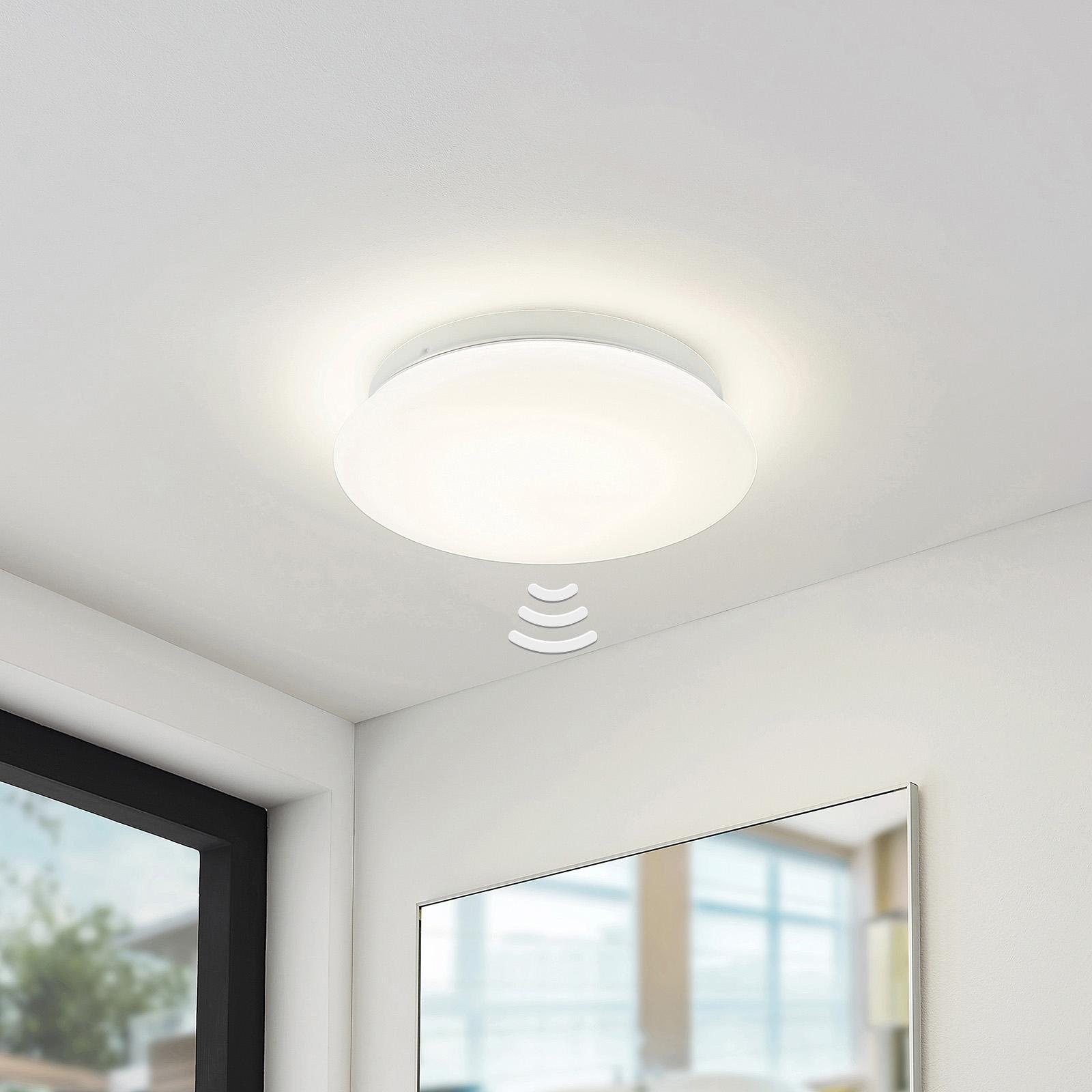 Arcchio Solomia -LED-kattovalo, anturi, 4 000 K