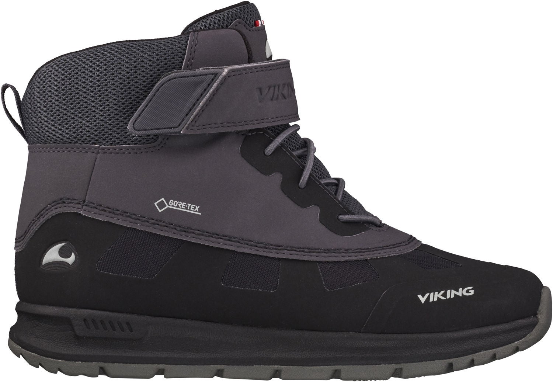 Viking Ted GTX Vinterkänga, Black/Charcoal, 28