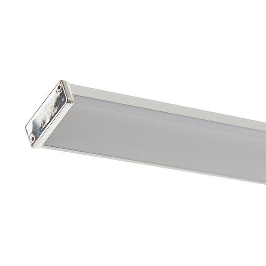 Lucande Pamela LED-speillampe krom 40 cm