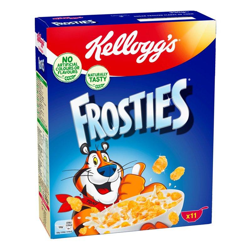 Maissihiutaleet Frosties - 31% alennus