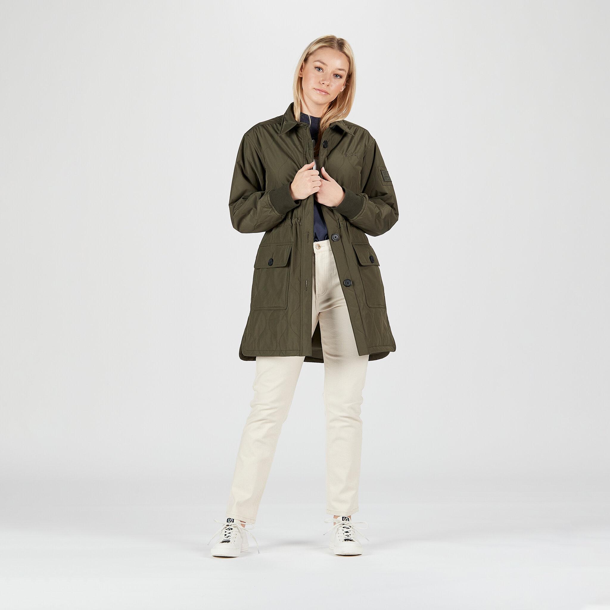 W. Queens Shirt Jacket
