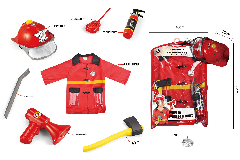Firefighter Costume Set (520221)