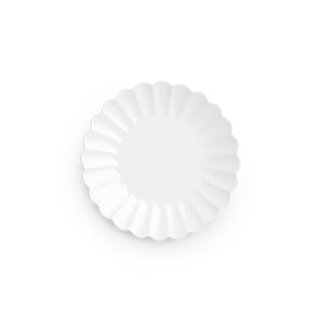 Oyster Tallrik Vit 20 cm