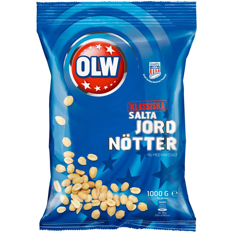 Salta Jordnötter - 35% rabatt