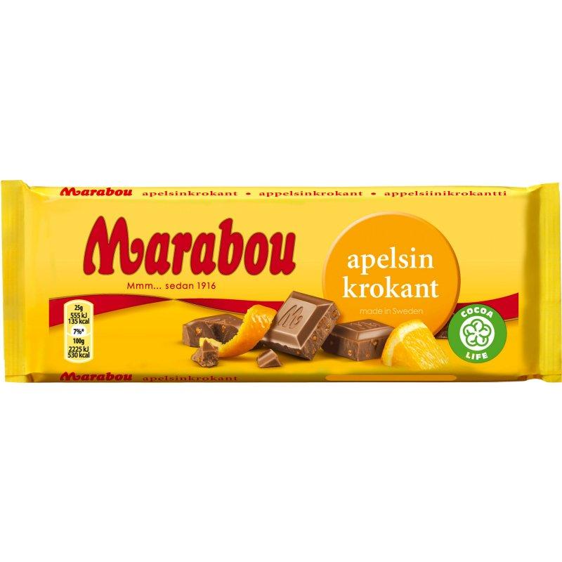 Marabou Chokladkaka Apelsinkrokant - 33% rabatt
