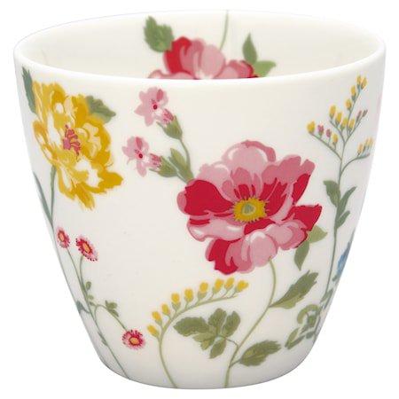 Thilde Latte Cup Hvit