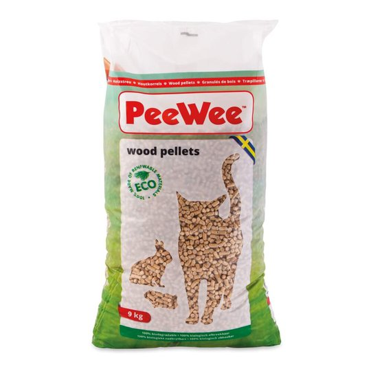 PeeWee Träpellets (14 L/9 kg)