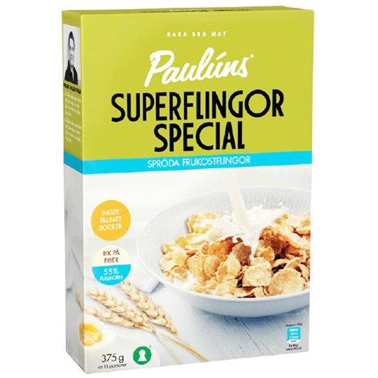 """Murot """"Superflingor Special"""" 375g - 75% alennus"""