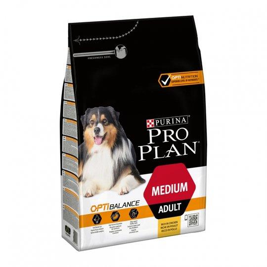 Purina Pro Plan® OptiBalance® Adult Medium Chicken (3 kg)