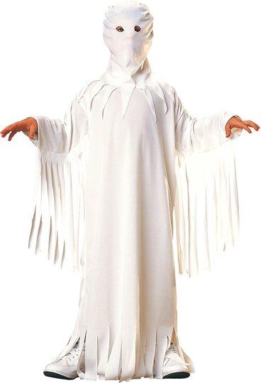 Rubie's Kostyme Ghost Robe, Vit 5-7 år