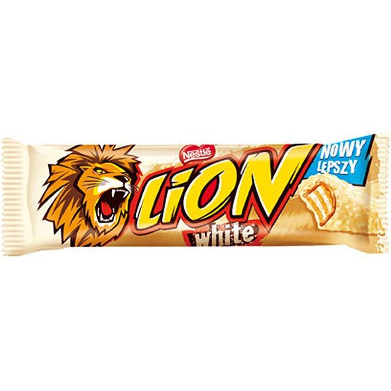 "Suklaapatukka ""Lion White"" 42g - 17% alennus"