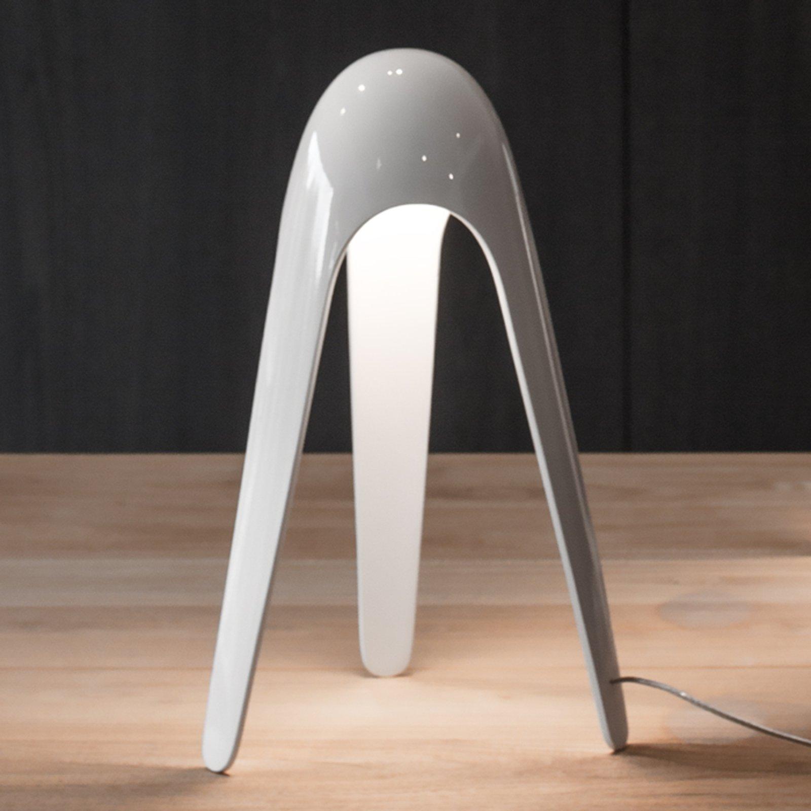 Martinelli Luce Cyborg - LED-bordlampe, hvit