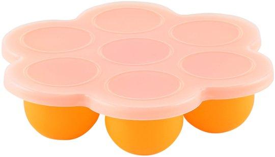 Virgel Porsjonsform med Lokk, Oransje
