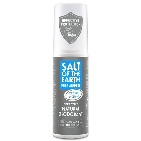 Salt of the Earth Pure Armour Explorer Deo Spray for Men, 100 ml