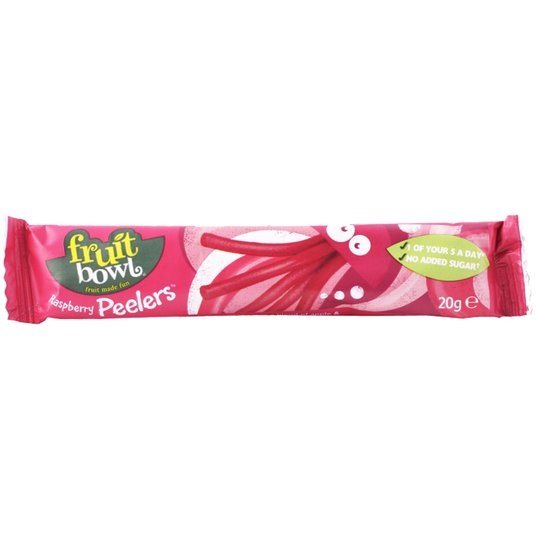 "Fruktsnack ""Raspberry Peelers"" 20g - 44% rabatt"