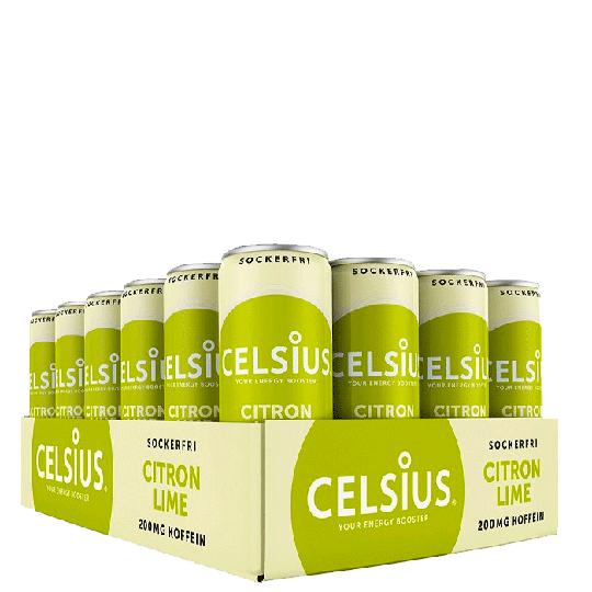 24 x Celsius, 355 ml, Citron Lime