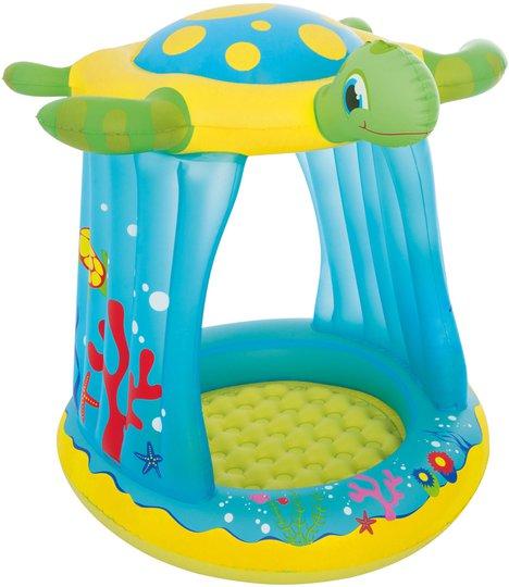 Bestwaa Turtle Totz Play Pool Babybasseng