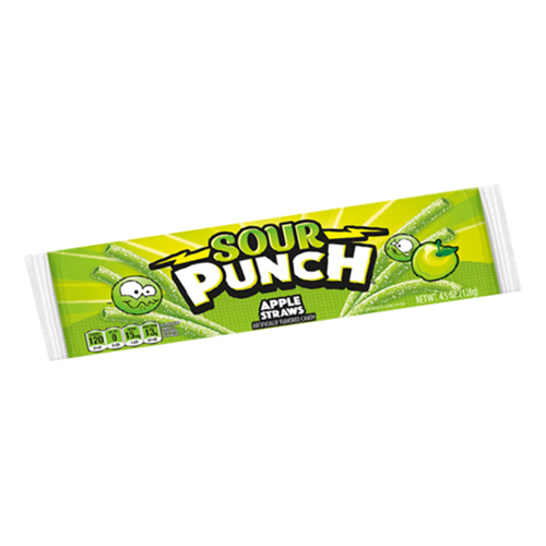 Sour Punch Apple Straws - 1-pack