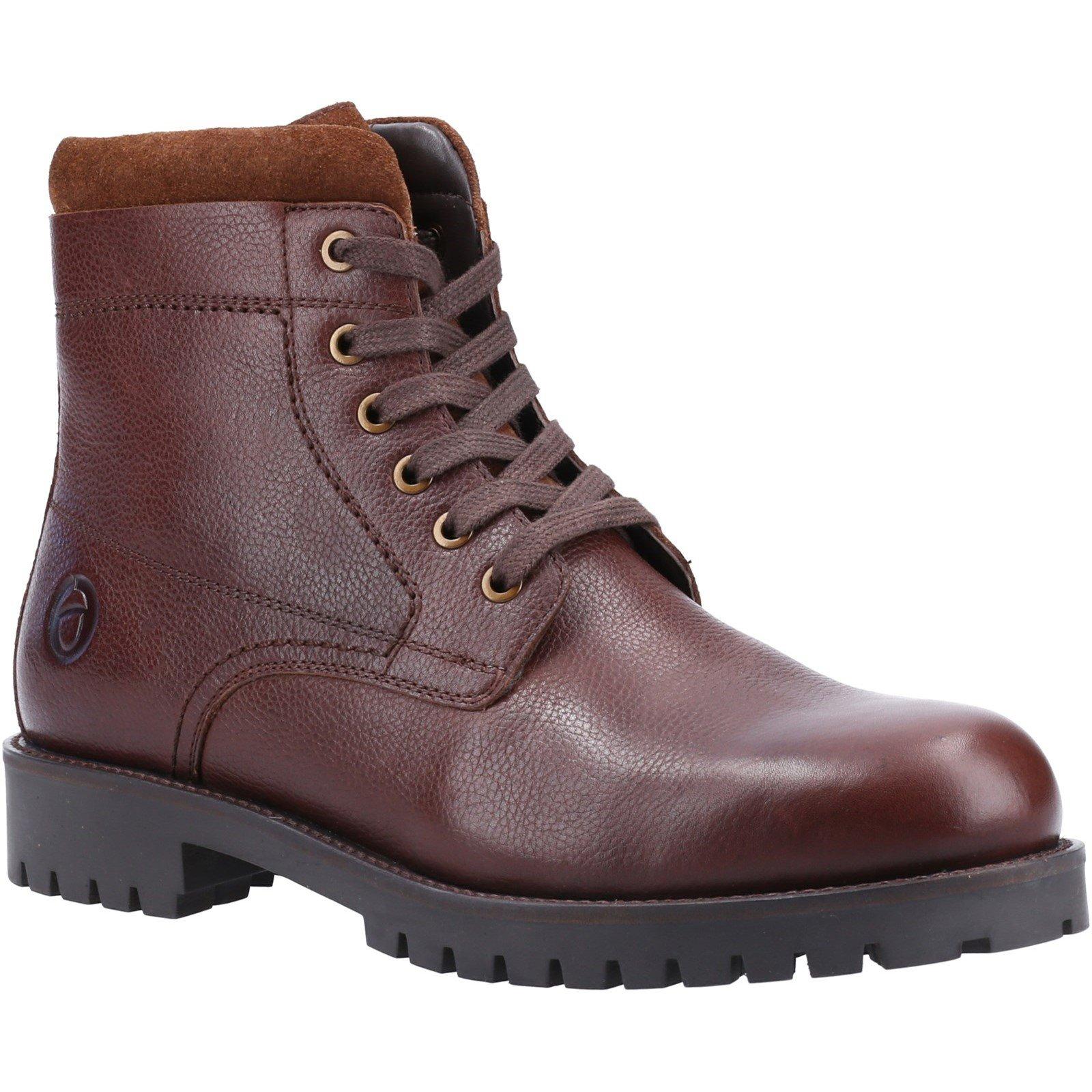 Cotswold Men's Thorsbury Lace Up Shoe Boot Various Colours 32963 - Brown 8