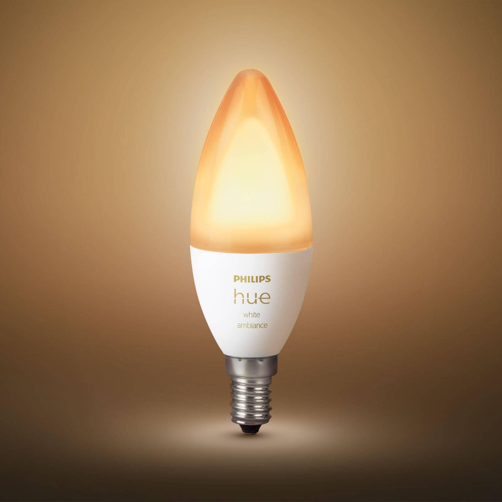 Philips Hue mignonpære White Ambiance E14 5,2W