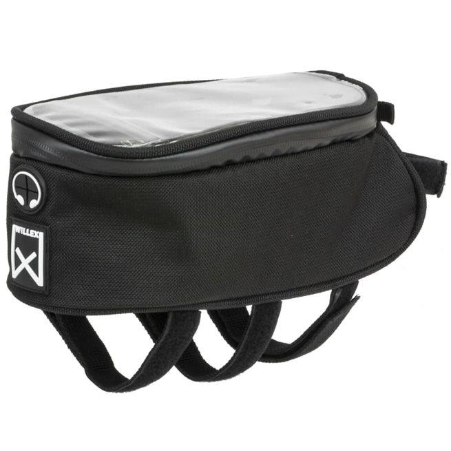 vidaXL Väska till cykelram 1200 2 L svart