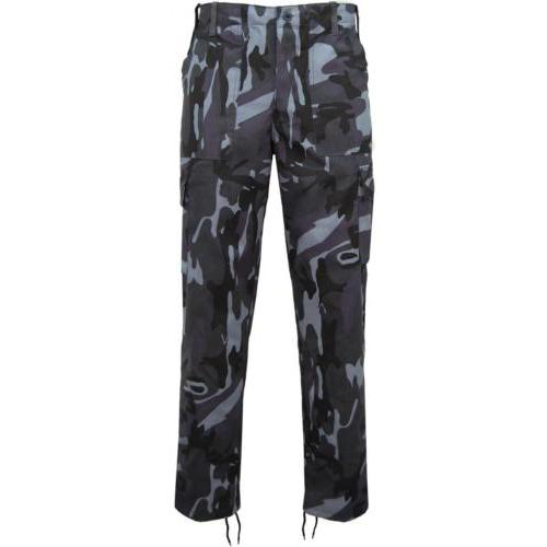 """Game Technical Apparel Men's Trouser Various Colours Cargo Trs - Midnight 40"""""""