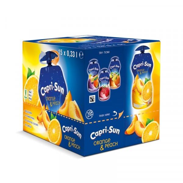 Capri-Sun - Apelsin & Persika 33cl x 15st