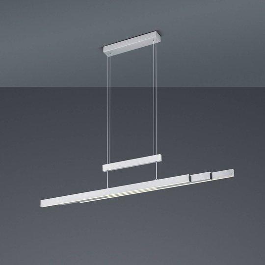 LED-pendellampe Trajan, 2 700-5 000 K, matt nikkel