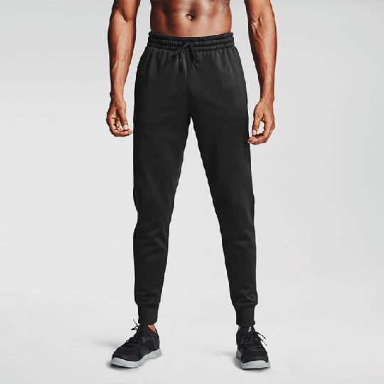 UA Armour Fleece Joggers, Black