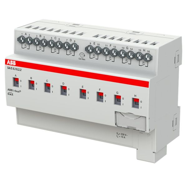 ABB 2CDG110259R0011 Tulo-/lähtöyksikkö KNX, 230 V, 10 A Kytkinliitäntöjen enimmäismäärä: 8