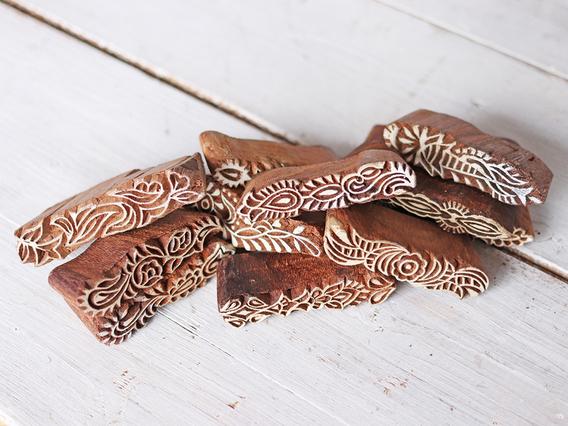 Decorative Wooden Printing Block not on website