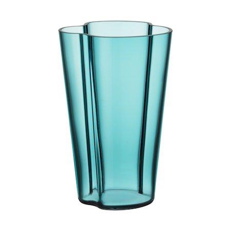 Aalto Vase 22 cm havblå