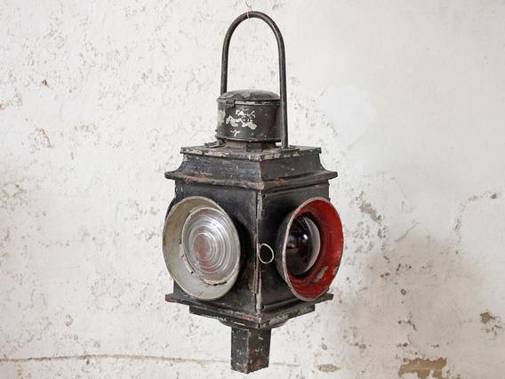 Vintage Railway Lantern - Extra Large Large