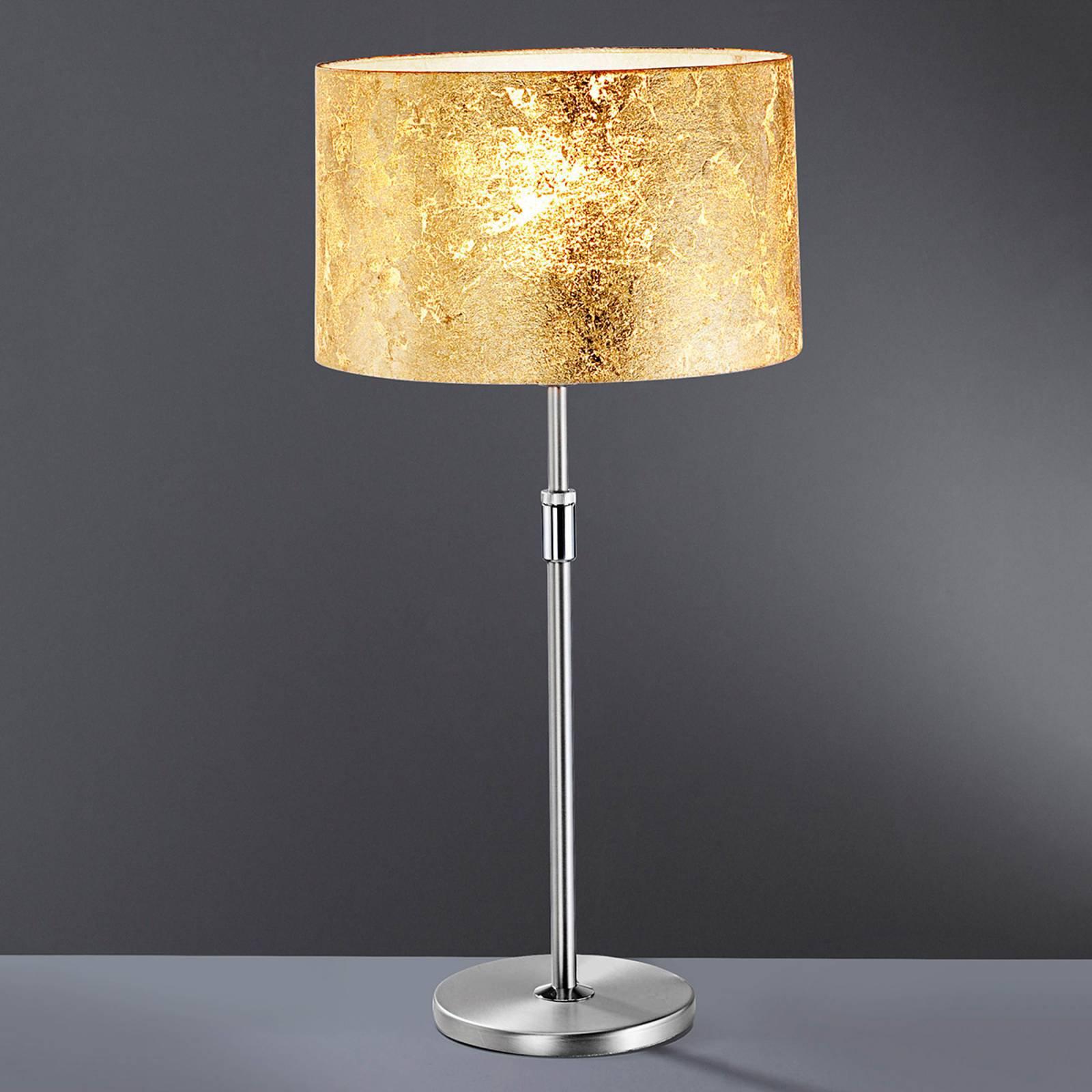 Bordlampe Alea Loop med belegg av bladgull